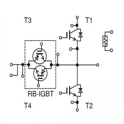 Fuji富士3电平电源转换电路用IGBT模块
