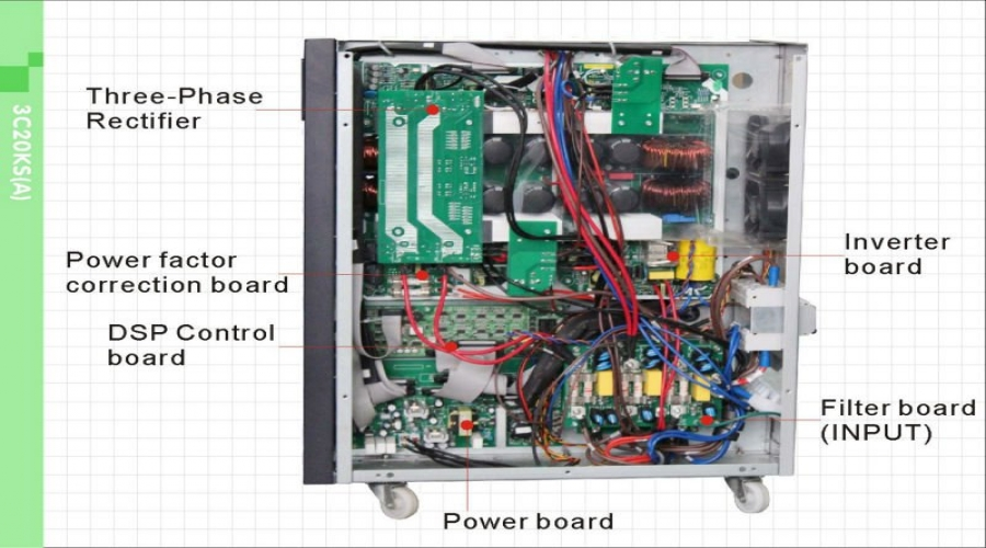 富士电机最适用于UPS的半导体产品